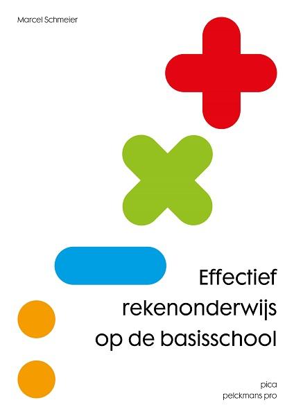 Boek effectief Rekenonderwijs voorkant.